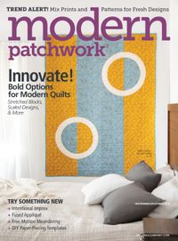 October 18, 2018 issue of Modern Patchwork