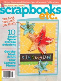 August 14, 2012 issue of Scrapbooks Etc