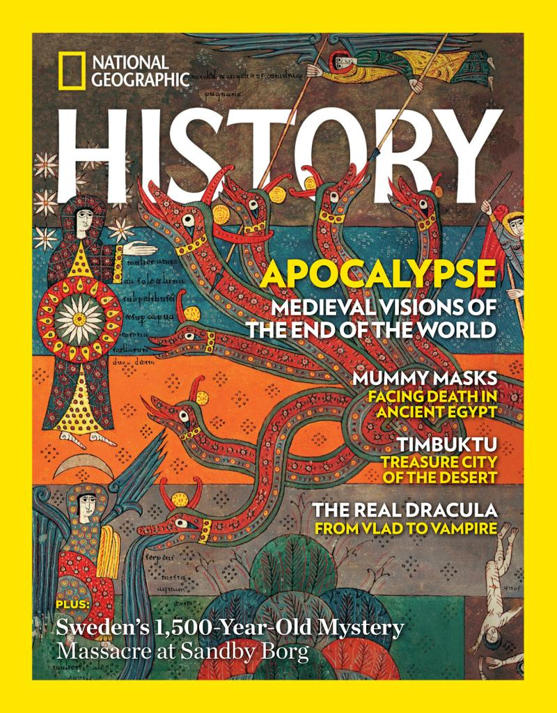 National Geographic History - Subscription Subscriptions