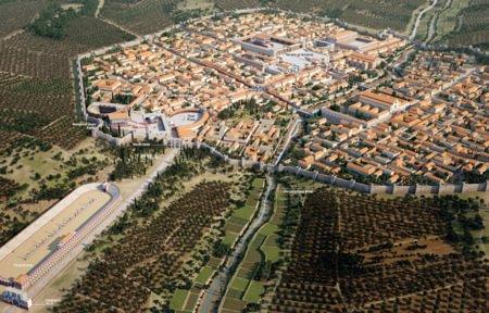 A ROMAN CITY
