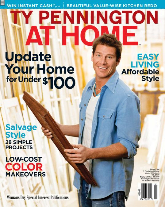 Ty Pennington At Home
