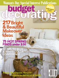 March 31, 2009 issue of Budget Decorating Ideas