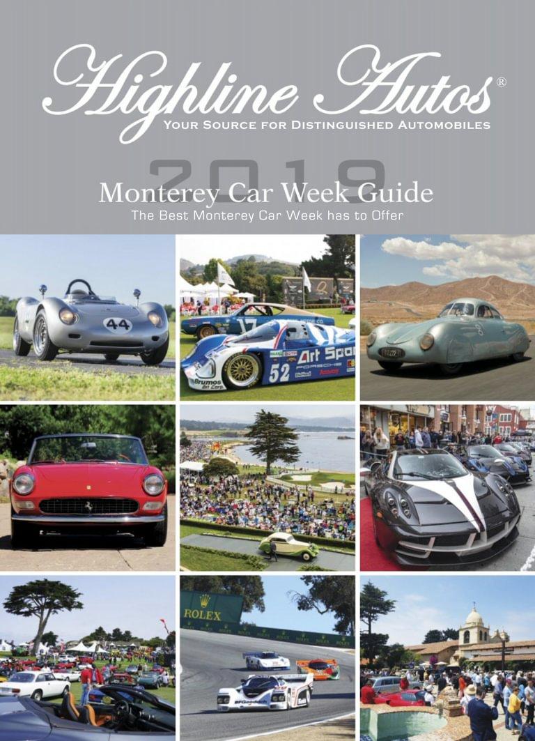2019 Monterey Car Week Guide