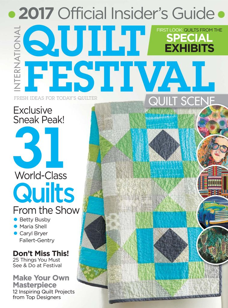 International Quilt Festival: Quilt Scene  - Issue Subscriptions