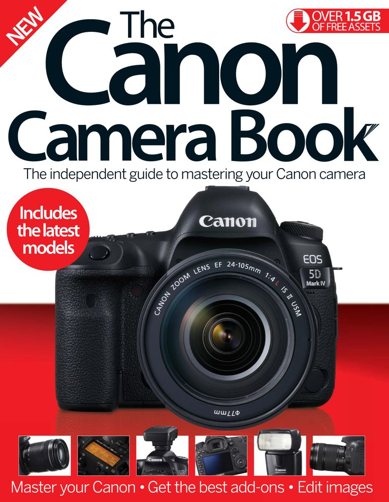 The Canon Camera Book  - Issue Subscriptions