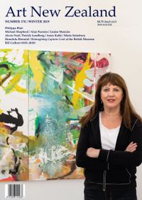 April 30, 2019 issue of Art New Zealand