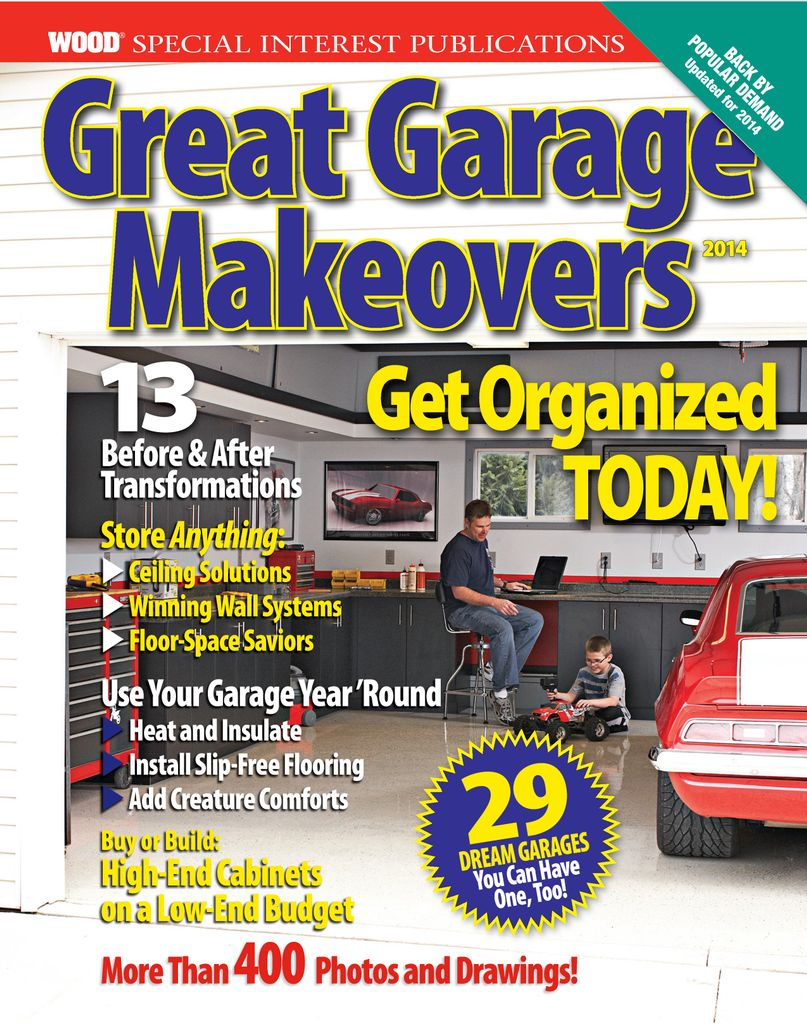 Great Garage Makeovers - Issue Subscriptions