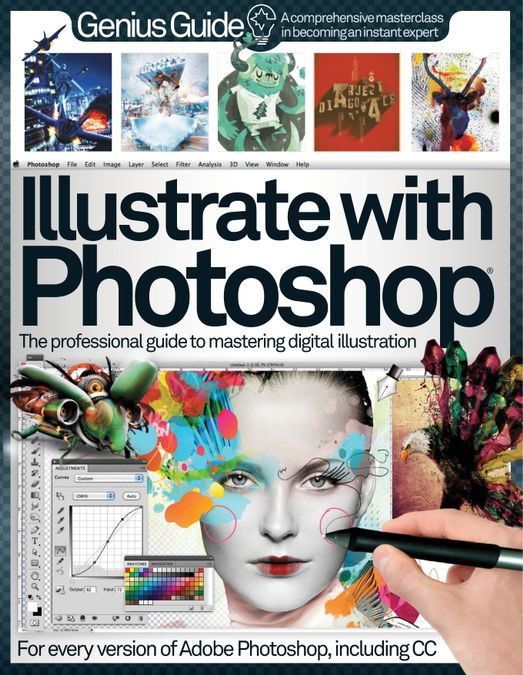Illustrate with Photoshop Genius Guide