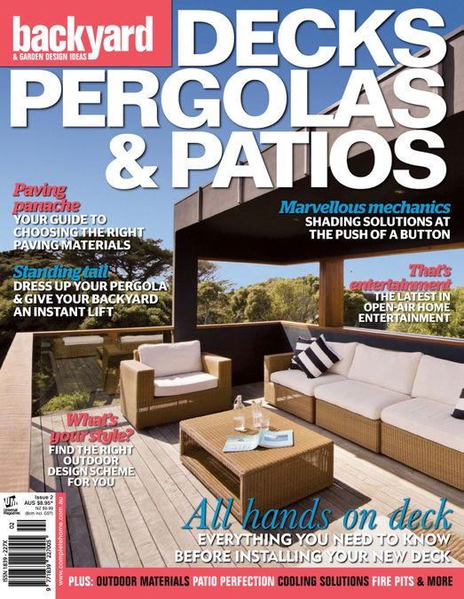 Decks, Pergolas & Patios