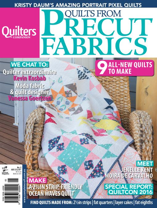 Quilts from Precut Fabrics
