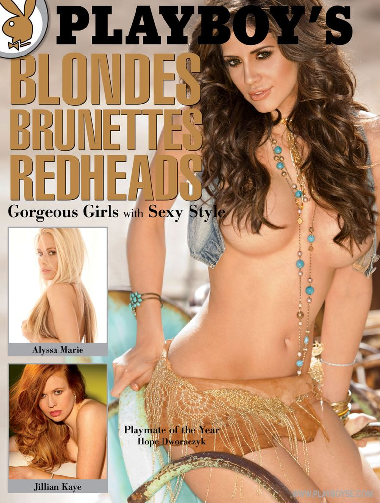 PLAYBOY'S Blondes, Brunettes, and Redheads