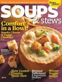 November 01, 2013 issue of Soups