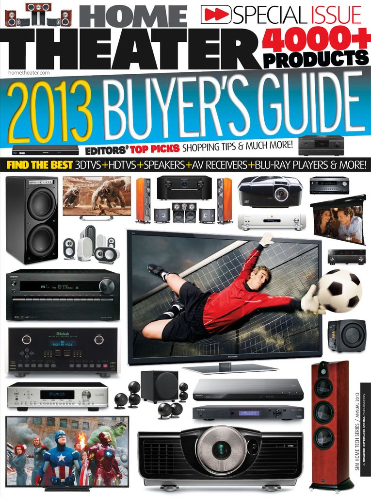 Home Theater Buyer's Guide - Issue Subscriptions