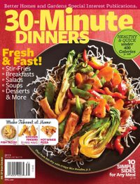 February 01, 2013 issue of 30 Minute Dinners