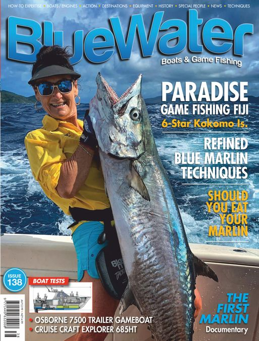 BlueWater Boats & Game Fishing