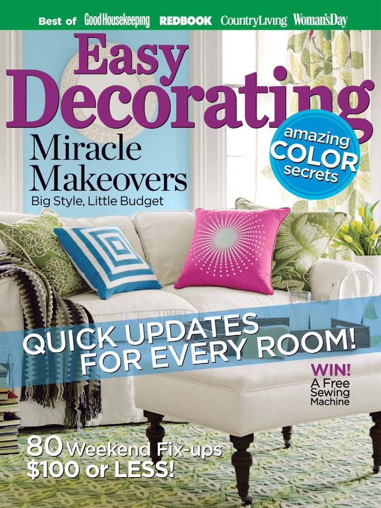 Easy Decorating Ideas - Issue Subscriptions