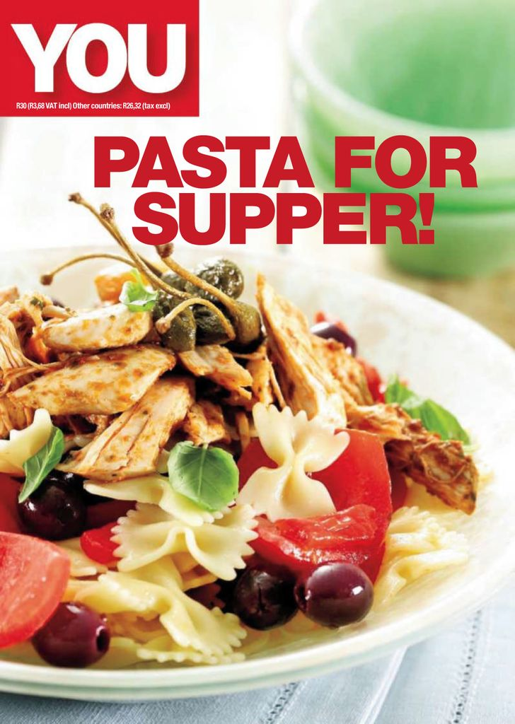 You Pasta for supper - Issue