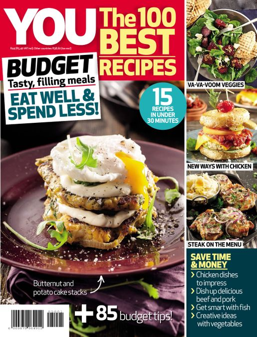 YOU The 100 Best Recipes: Budget