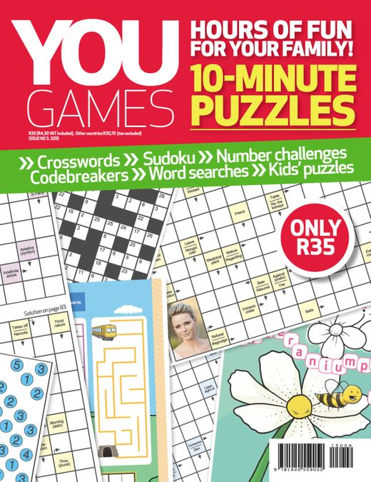 YOU Play - 10 minute puzzles