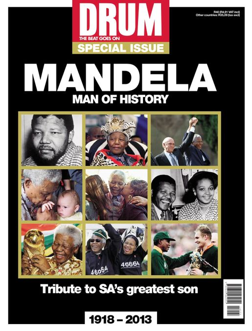 Drum - Nelson Mandela  – Man of History