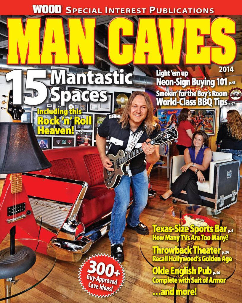 Man Caves - Issue Subscriptions