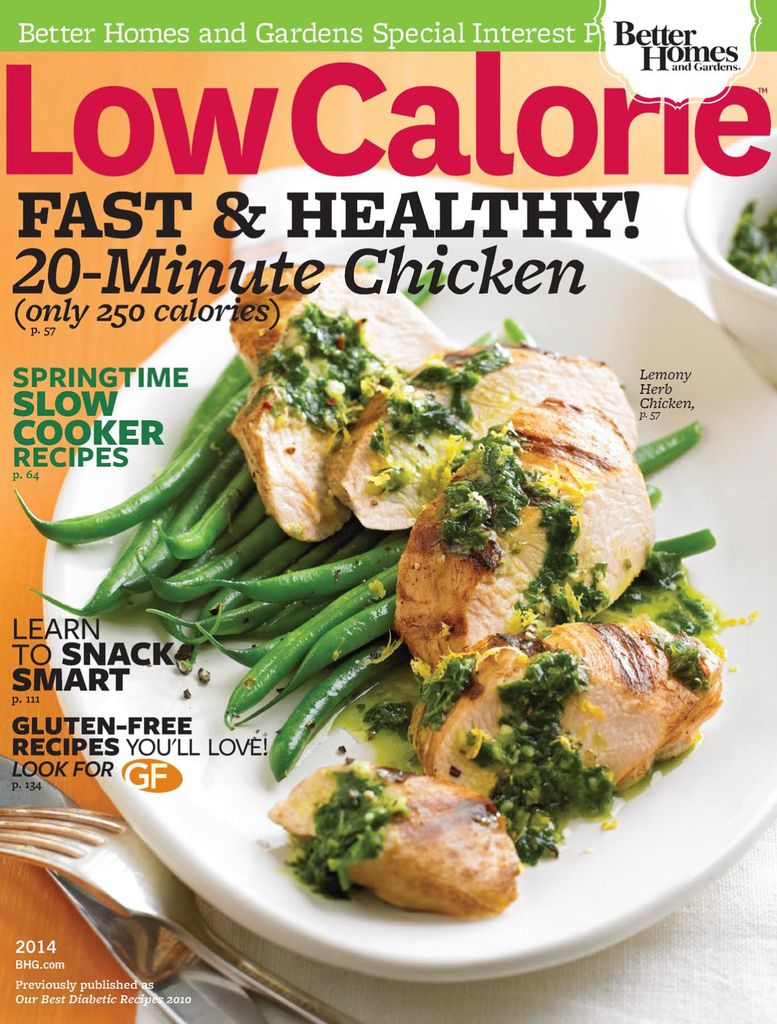Low-Calorie Recipes - Issue Subscriptions
