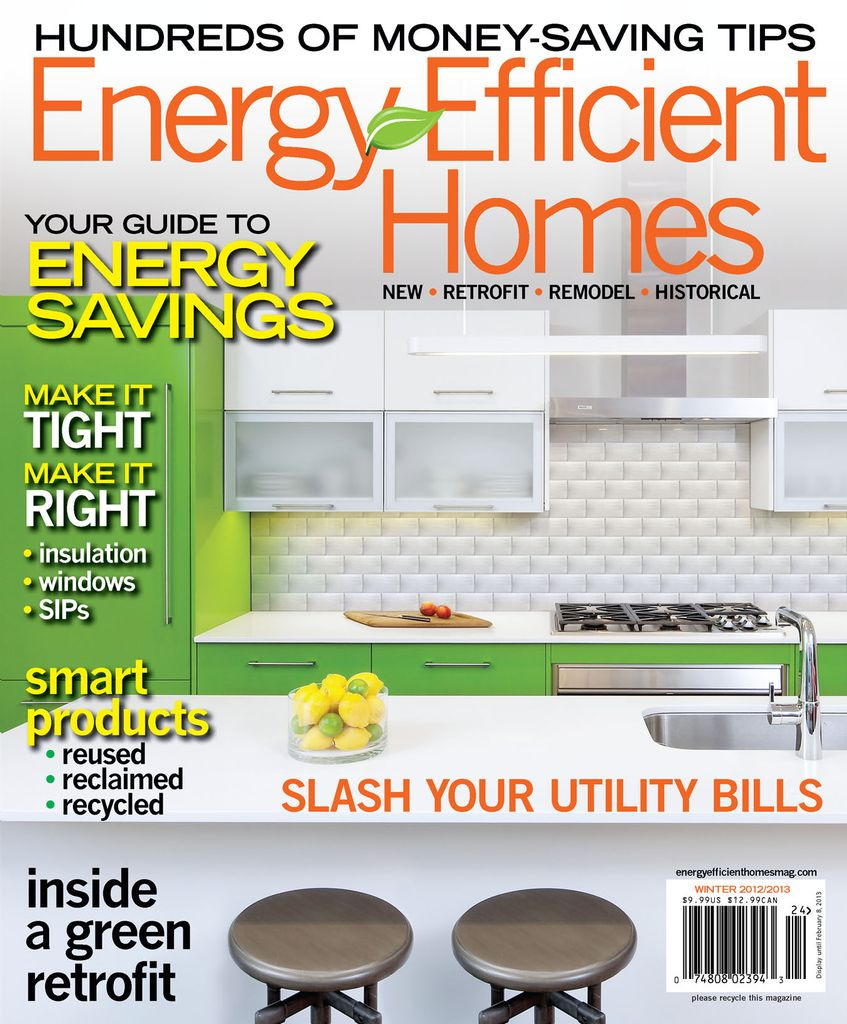 Energy Efficient Homes - Issue Subscriptions