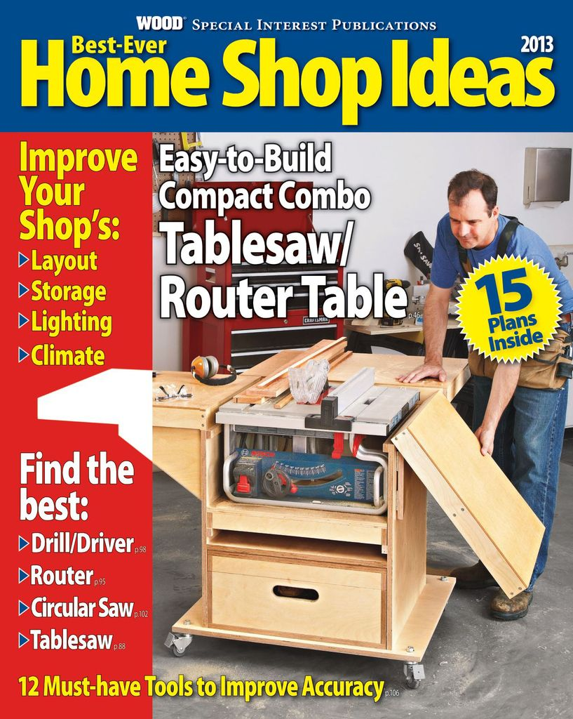 Best-Ever Home Shop Ideas - Issue Subscriptions