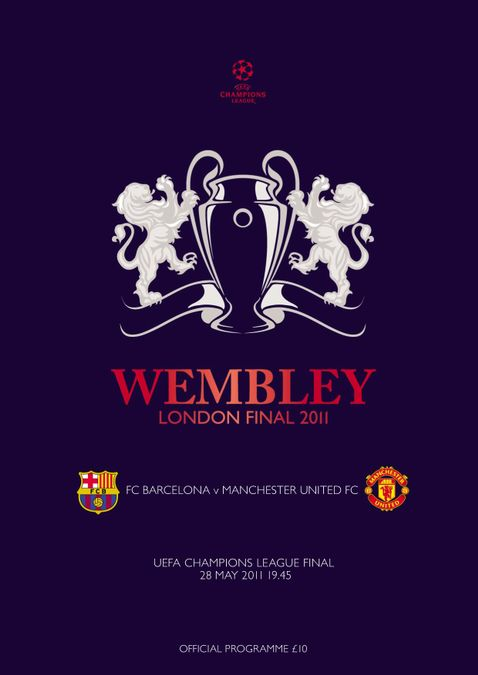 UEFA Champions League final official matchday programme