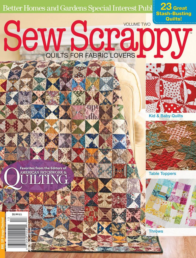 Sew Scrappy - Issue Subscriptions