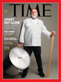 April 06, 2020 issue of Time Magazine International Edition