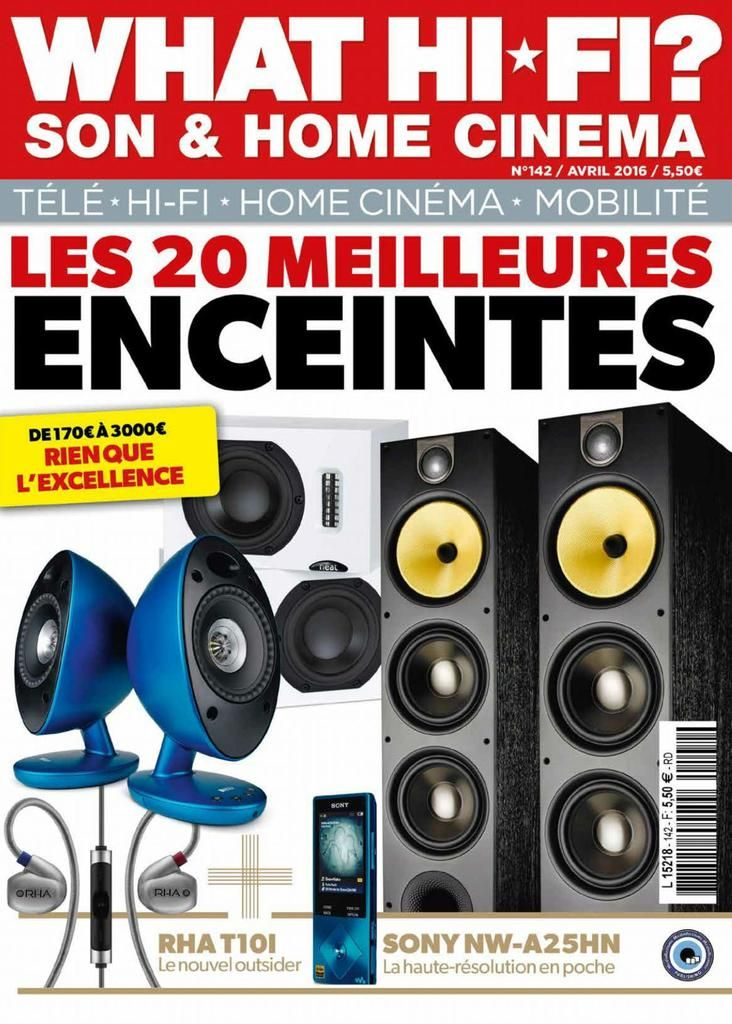 Acheter Avril 2016 What Hifi France