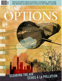 July 01, 2015 issue of Policy Options