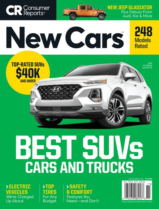 Consumer Reports New Cars