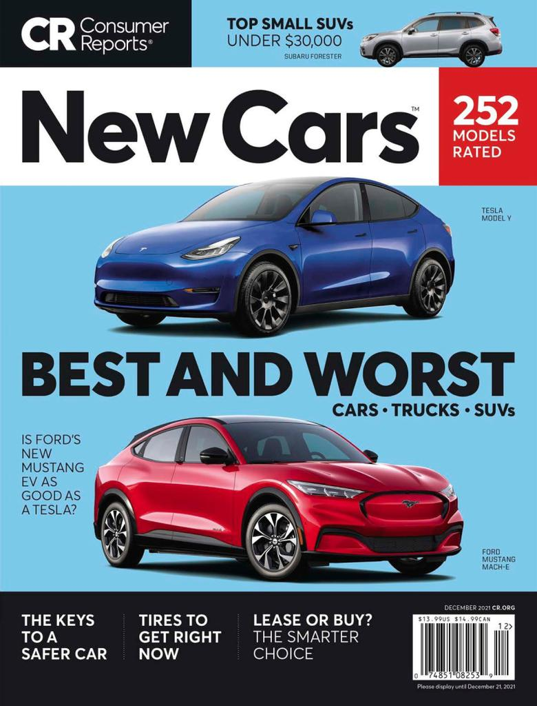Consumer Reports New Cars - Issue Subscriptions