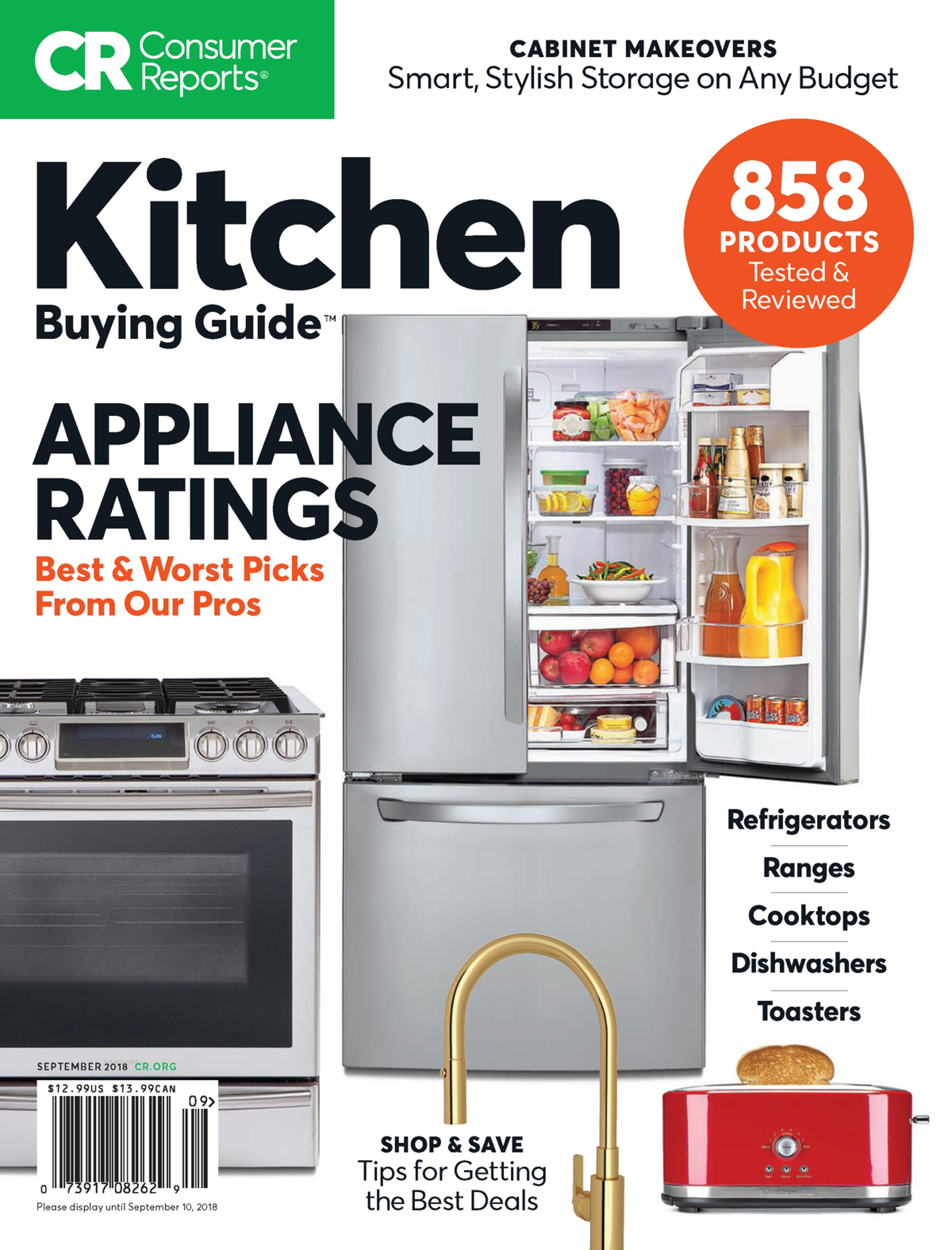 Consumer Reports Kitchen Planning And Buying Guide Subscription