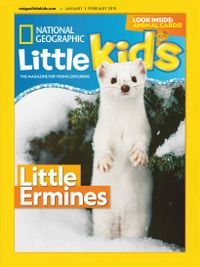 December 31, 2018 issue of National Geographic Little Kids