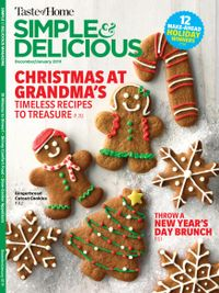 November 30, 2018 issue of Simple and Delicious