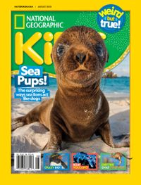 August 01, 2020 issue of National Geographic Kids