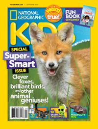 September 01, 2020 issue of National Geographic Kids