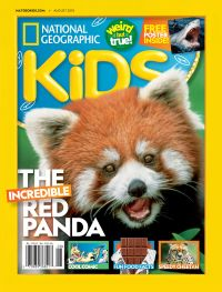 July 31, 2018 issue of National Geographic Kids
