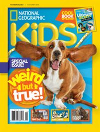 October 31, 2018 issue of National Geographic Kids