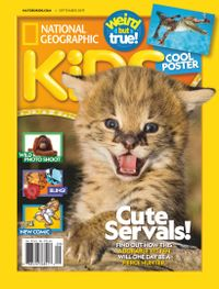 August 31, 2019 issue of National Geographic Kids