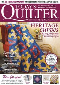 March 31, 2019 issue of Today's Quilter