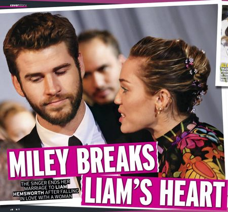 MILEY BREAKS LIAM'S HEART