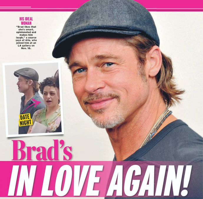 Brad's IN LOVE AGAIN!