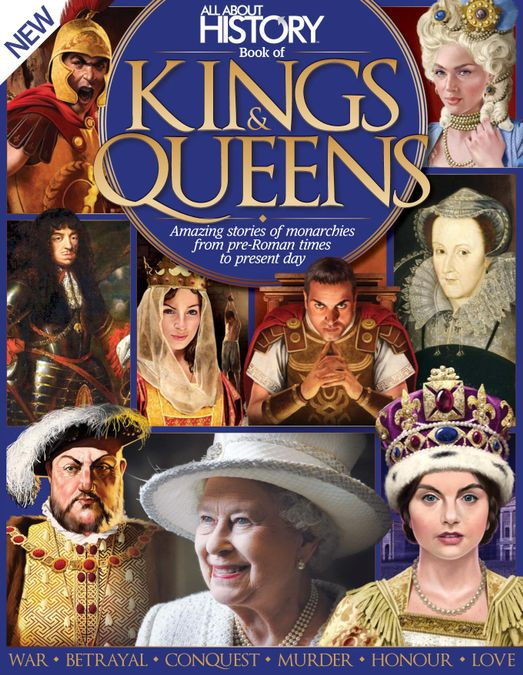 All About History Book of Kings & Queens