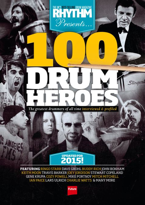 Rhythm Presents 100 Drum Heroes