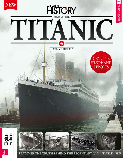 All About History Book of The Titanic