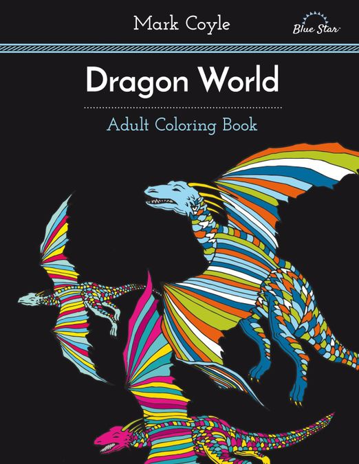 Adult Coloring Book: Dragon World